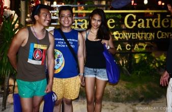 Kris Tabayan, EJ Francisco, and I