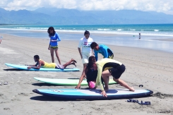 Costa Pacifica, Baler Surfing