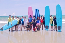 Costa Pacifica, Baler Surfing