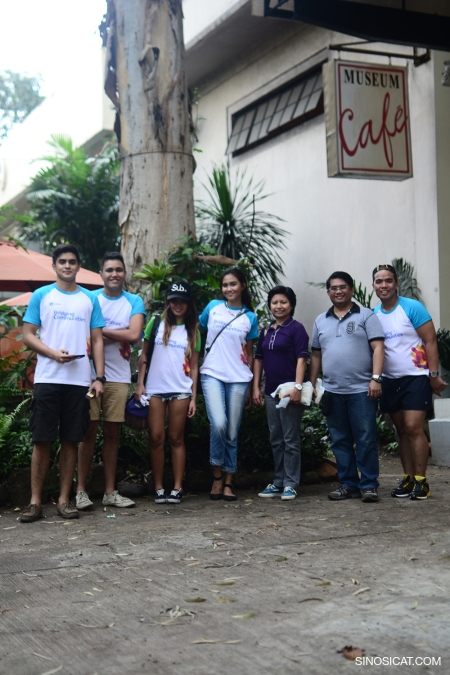 Team Globe at the Museum Cafe, Bacolod