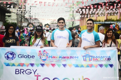 Bacolod Masskara 2014 Street Dance Competition with Cheyser Pedregosa, Juancho Trivino, and Lloyd Salac