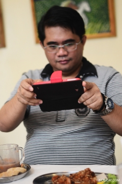 Pinoy Recipes Blogger at the Museum Cafe, Bacolod