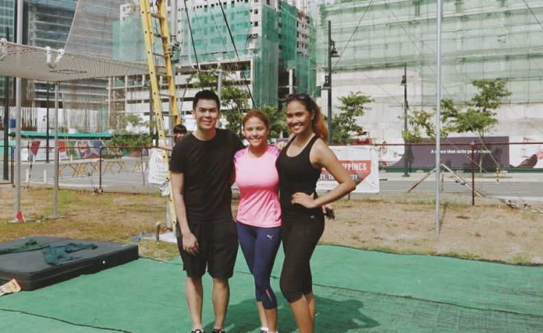 Flying Trapeze with Gretchen Fullido and Franco Saycon